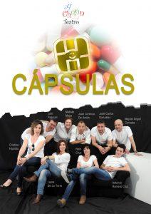 """"""" Cápsulas"""" funcion teatral escrita, dirigida e interpretada por A Cholón Teatro"""