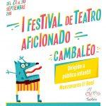 Cartel de Festival de Teatro Infantil Cambaleo
