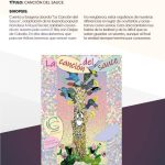 Programa festivalCambaleo CANCIÓN DEL SAUCE obra de teatro cartel Manzanares El Real